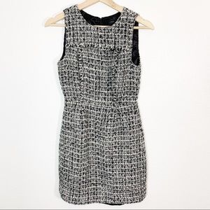 JCrew l Noir Tweed Dress